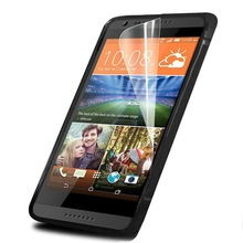 HD PET Clear LCD Protective Screen Protector For HTC Desire 620
