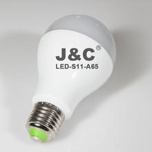 12W E27 A65 cheap bulb with led smd