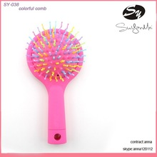 home office travel natural hair brush comb wholesale
