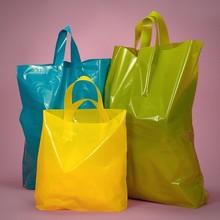 Biodegradable Custom Gravure Printed OEM Plastic Shopper Bag Wholesale