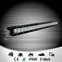 E-mark certified aurora 50 inch single row light led light bar car