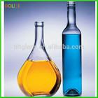 750ml fancy Glass Liquor Bottles wholesale bulk liquor