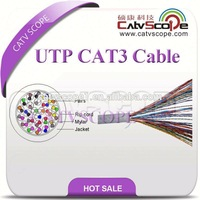 Data Cable UTP CAT3 LAN Cable with PVC(CM,CMR)/LSOH /PE Jacket