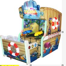 Happy Water War jet series redemption game machine/defend submarine electronic game machine for sale
