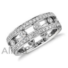 AGR0502 fashion engagement ring silver ring cluster diamond ring design