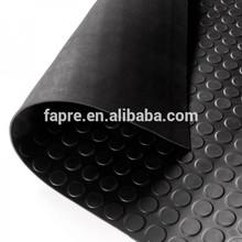 3mm black anti slip rubber floor mat in roll