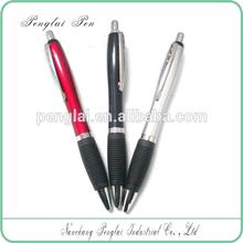 china manufacturer plastic push button pen, push action ball pen
