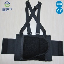 2015 new products Mesh Industrial back support belt with Suspenders--FDA,CE certificate