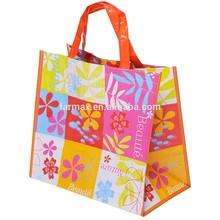2015Farmax stock price supermarket use laminated tote bag
