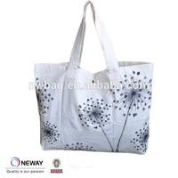 Newway Factory China Custom Popular Cotton Shopper Bag/Cheap Book Bags/ Custom Gift Bags With Logo