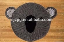 baby play mat/crochet floor mat,knitted mat/rug