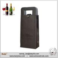 2015 New Design Make Wine Bottle Bags for Wedding Gift