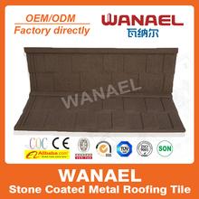 Shingle Wanael stone coat roof shee/metal sheet for roof price/guangzhou construction materials