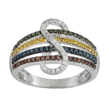 Fast Selling Zircon In All Department With Fashion Diamond Ring For Women