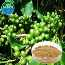 2015 fabricante china orgânica feijão de café verde extrato cápsulas
