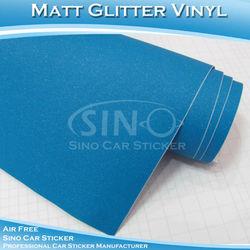 C9109 Light Blue 5*98ft Matt Glitter Best Cost Of Truck Body Full Vehicle Wrap