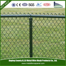 Metal used chain link fence post