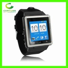 3G Android Watch Phone With Android 4.0 Ram 512M+Rom 4G 2MP Camera WCDMA 3G S6 Android Watch