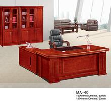 Dayanıklı kullanılan lüks masif ahşap yönetici ofis mobilyaları ma-40