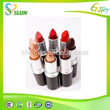 Magic new product 2015 round metal stick cheap lipstick