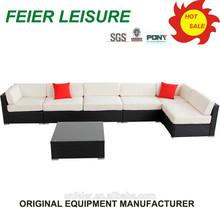 morden style antique wrought iron outdoor furniture sofa set