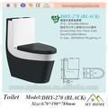 baratos de inodoro higiénico sanitarias de color negro de cerámica de baño wc