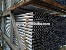 Extruded 6063 T5 aluminium round tube natural anodized
