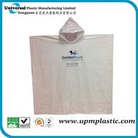 emergency PE plastic disposable raincoat rain poncho