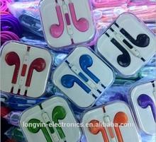 For iPhone 5 5S 6 iPad Headphone Earbuds Handsfree Earphones With Mic