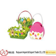 Hot new products for 2015 Felt Easter egg hunt bag