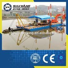 CE approvaled sand suction dredger pontoon boat for sale