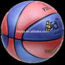 official size weight ball basketball/7#basketball colored diamond PU