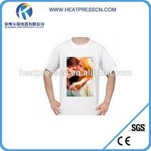 Professional Custom sublimation 100% polyester t shirts