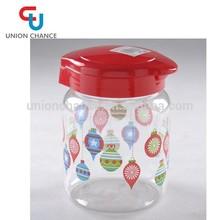 Food Grade 1200ML Jam Bottle PET Material