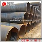 Large diameter welded steel pipe