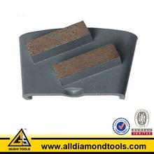 Double Segment Abrasive Diamond Resin Bonded Bricks for Concrete
