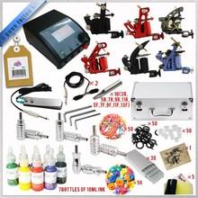Professional Tattoo Kits 6 Guns Rotary Tattoo Machine Kits Tattoo Piercing Kits