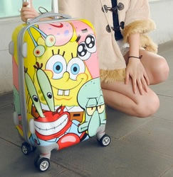 Factory direct distributor Lightweight luggage cartoon characters luggage