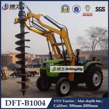 High Quality DFT-B1004 Hydraulic Rotary Pile Driver