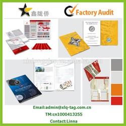 2015 high quality catalogue/magazine/brochure printing, printing catalogue