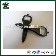 New design Plastic Pen With Bottle Opener,promotional bottle opener pen