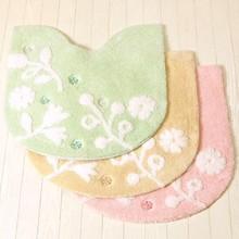 FLOLINA washable toilet rugs mats