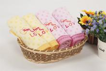 Best Price Soft Jacquard Organic Cotton Face Towels