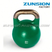 Hot sale!!!High quality vinyl dipped kettlebell for weight lifting