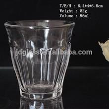 Color bottom wholesale dringking glassware in bulk with customer logo