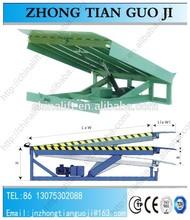 8T loading ramp stationary dock leveller/forklift ramps adjustable portable