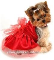Christmas Dog Dress- Dog Dresses, Chihuahua Dog Clothes, Puppy Dress, Fancy Dog Dress, Clothes