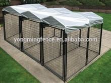 Galvanized dog cage&kennrl
