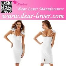 White wedding sex spaghetti dress shoulder strap styles
