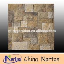 yellow antacid artificial culture stone slate NTCS-C149